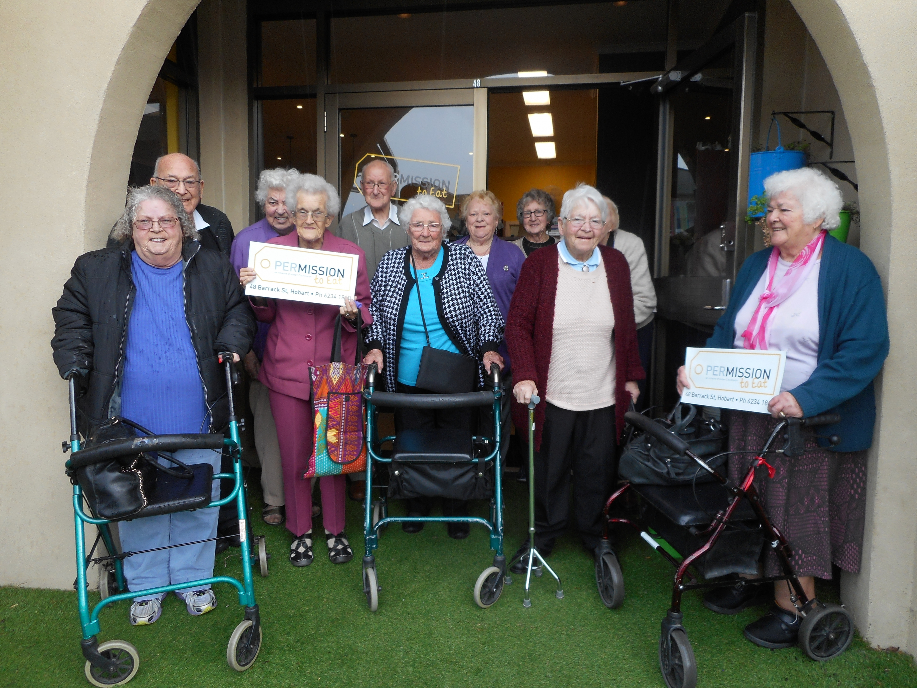 Sorell Day Centre Mission visit