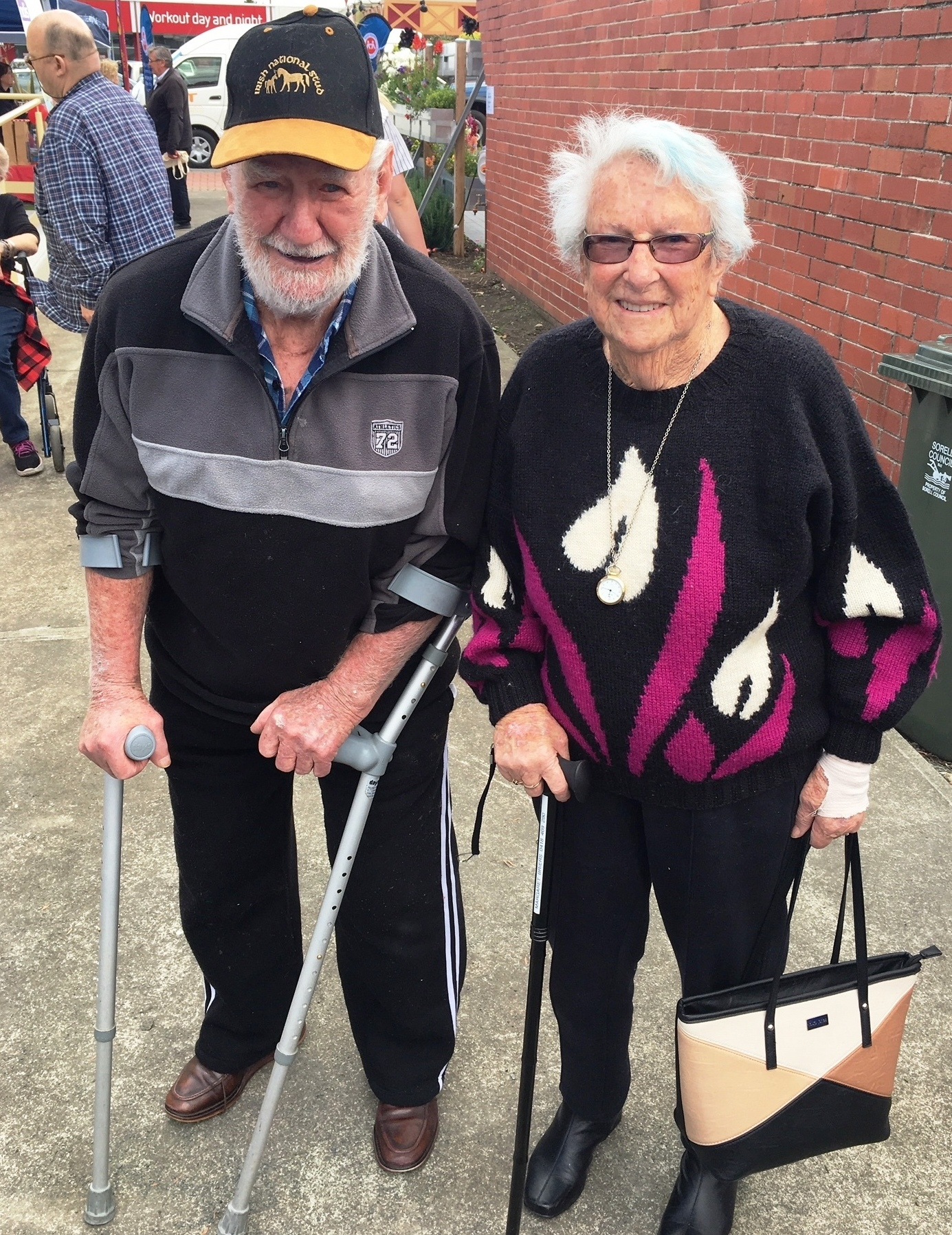 Dennis and Margaret Briers of Sorell