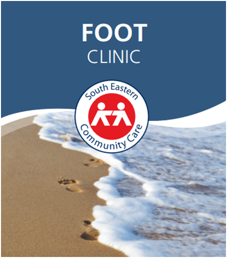 Come see us at the SEC Care Foot Clinic for all your foot-hygiene needs!