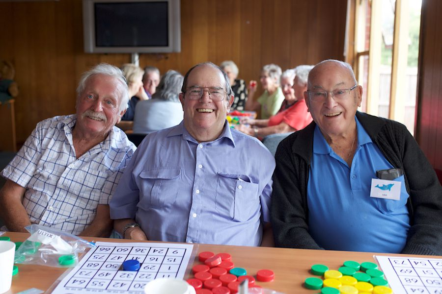 Day Centre Bingo
