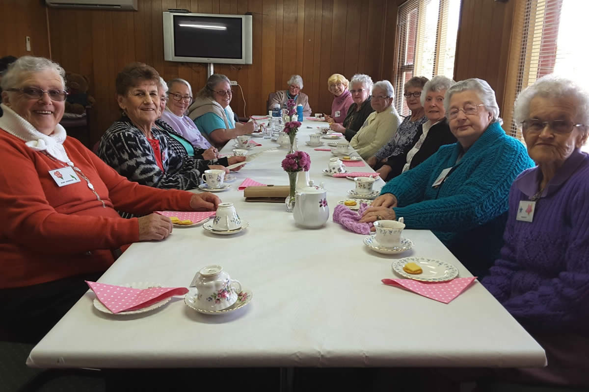 Ladies at our Sorell Day Centre enjoyed a day of pampering in celebration of Mother's Day 2016.